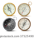 Compass Set Vector. Different Colored Compasses 37325490