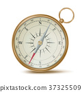 Realistic Compass Vector. Template Design Element 37325509