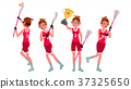 Women s lacrosse Vector. Lacrosse Practice 37325650