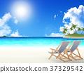 바다, 리조트, 푸른 하늘 37329542