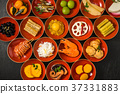 Osechi Kaiseki Traditional Japanese meal taken in courses 37331883