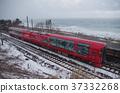 Echigo Toki Meki Railway Resort ดอกไม้ Yukigetsu ที่ไหลไปตามทะเลญี่ปุ่นในฤดูหนาว 37332268
