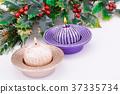 Christmas candles 37335734