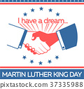 banner Martin Luther King Day 37335988