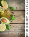 아보카도, 기름, 라임 37338913