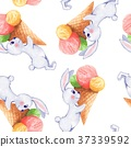 pattern rabbit seamless 37339592