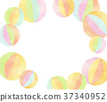 Paper balloons background background 37340952