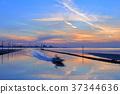 에가와 해안의 황혼 37344636
