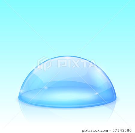 Blue glass dome 37345396