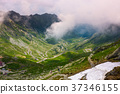 valley of Transfagarasan route in summertime 37346155