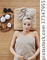 spa, woman, towel 37347955