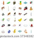 asia, icon, isometric 37348382