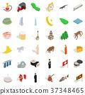 mosque, icon, isometric 37348465