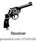 revolver, gun, firearm 37349108