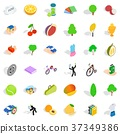 Necessary icons set, isometric style 37349386