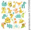 cute animals set 37354090
