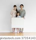 메시지 보드를 가지고 미소 가족 37354143