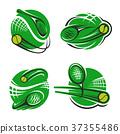 网球 运动 图标 37355486
