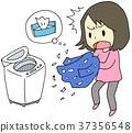 洗衣失敗的女人 37356548