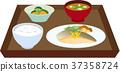 Fish set meal 37358724