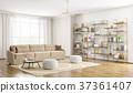 Interior of modern living room 3d rendering 37361407