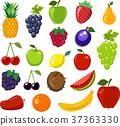 fruit, set, yellow 37363330