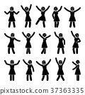 figure, woman, motion 37363335
