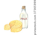 牛奶和奶酪套 37365999