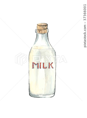 牛奶 牛奶瓶 瓶子 37366001