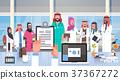 Hospital Medical Team Group Of Arab Doctors In 37367272