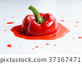 red bell pepper 37367471