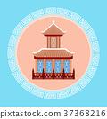 korea vector landmark 37368216