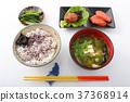 맛깔스러운 일본식 아침 식사 37368914