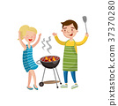barbecue, cooking, food 37370280