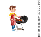 barbecue, cooking, food 37370304
