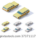 Vector isometric cars 37371117