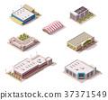 Vector isometric stores set 37371549