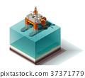 vector, isometric, oil 37371779