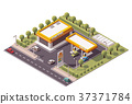 vector isometric filling 37371784
