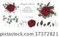 bouquet rose vector 37372821