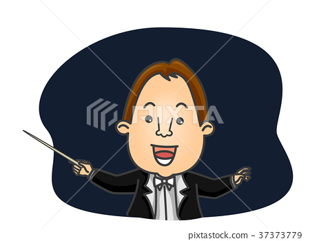 Man Orchestra Conductor 37373779