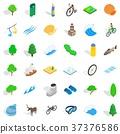 watermelon icon isometric 37376586
