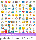 100, sport, icons 37377218