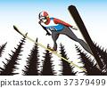 跳台滑雪 37379499
