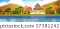 korea vector palace 37381242