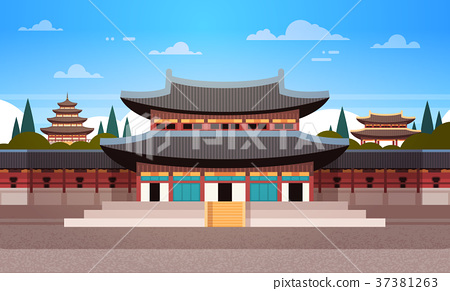 South Korea Landmark Famous Palace Traditional 37381263