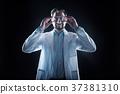 startup, labcoat, glasses 37381310