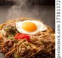 fried soba, fried noodle, yakisoba 37381372