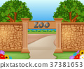 zoo in a beautiful nature 37381653