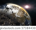 Wonderful sunrise over the Earth - Europe 37384430
